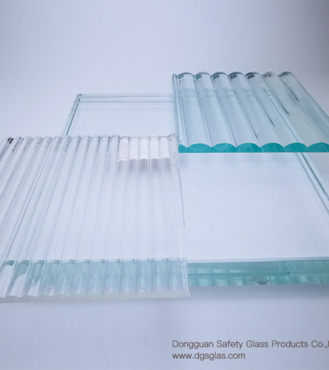 Textured Laminated Glass With Thickness Is 5mm+5mm 6mm+6mm Provided By Chinese Suppliers