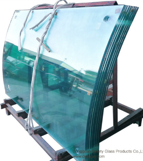 Curved  Bent Laminated Glass Suppliers