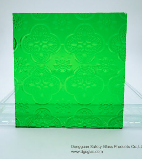 High Quality, Favorable Price Of Various Colors Of Begonia Pattern Glass Provided By Glass Manufacturers