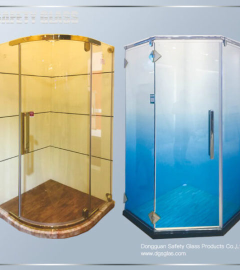 Suppliers Of Custom Glass Shower Enclosures Provide Sliding Frame Less Shower Door And Fixed Glass Bathroom Panel