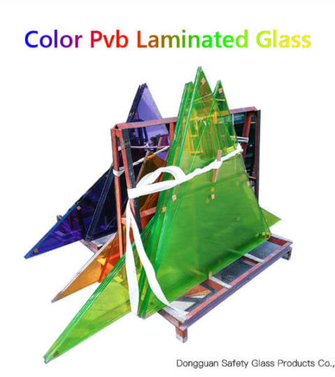 Architecture Tinted Laminated Glass Safety Toughened Colored Laminated Glass