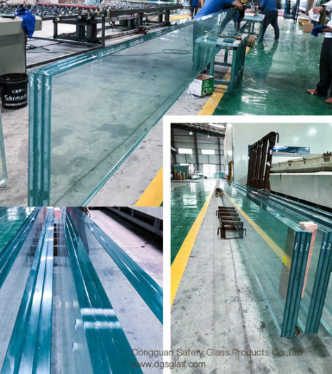 The High Quality Triple Lamianted Glass Thickness Provided By Chinese Manufacturers Is 15mm+15mm+15mm